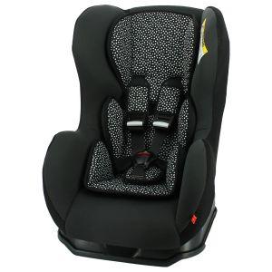 autostoel baby 0-25kg zwart/witte stip