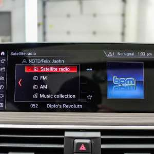 BMW Satellite Radio - SIRIUSXM