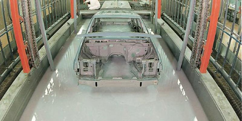 Claves del proceso de protección de las partes metálicas de los automóviles a través de la cataforesis.