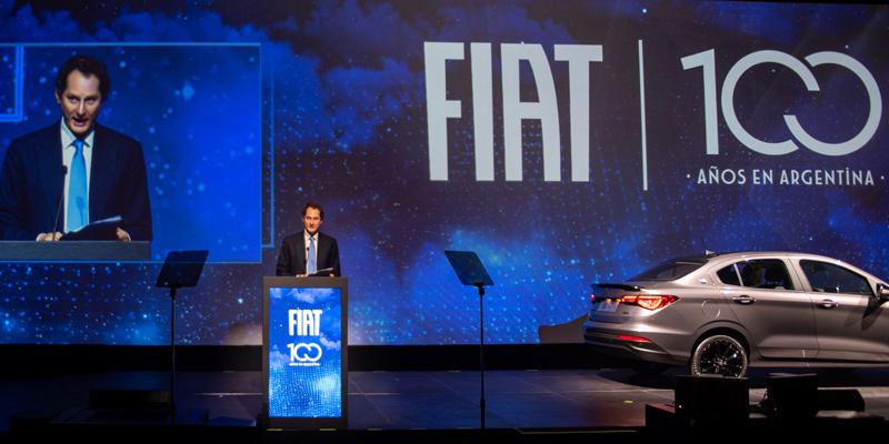 Fiat celebra sus 100 años de historia en el país