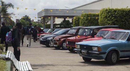 Expo Auto en el predio de la Universidad Nacional de La Matanza.