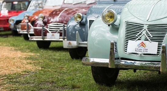 Festejo por el Centenario Citroën