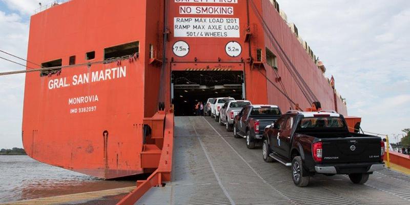Nissan Argentina exporta su Frontier número 10.000 de fabricación nacional