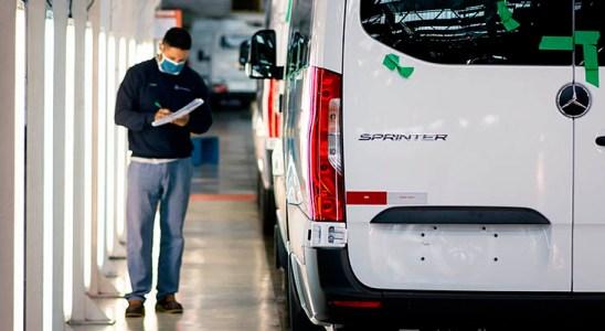 Mercedes-Benz reinicia su segundo turno de producción