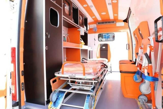 Ambulancias IVECO en el norte del país
