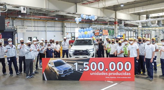Un millón y medio de Toyota argentinos