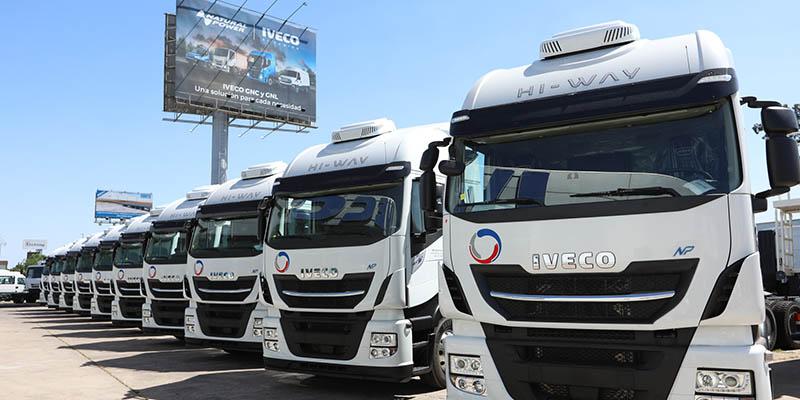 IVECO entrega camiones a GNC