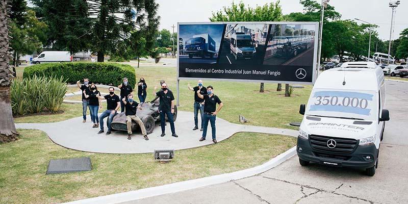 Mercedes-Benz Argentina produce la Sprinter nº 350.000