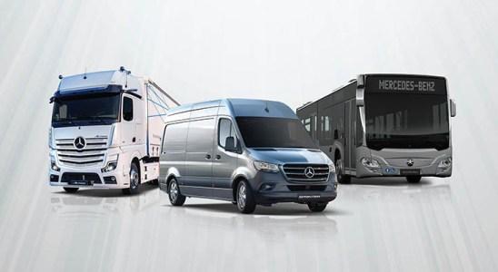 Mercedes-Benz, líder en 2020 en vehículos comerciales