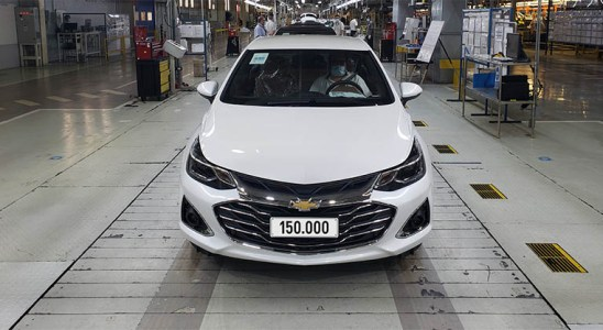 GM Argentina fabricó el Chevrolet Cruze 150.000