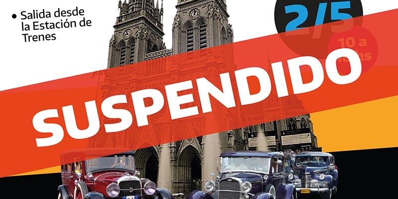 Desfile de autos y motos en Luján cancelado