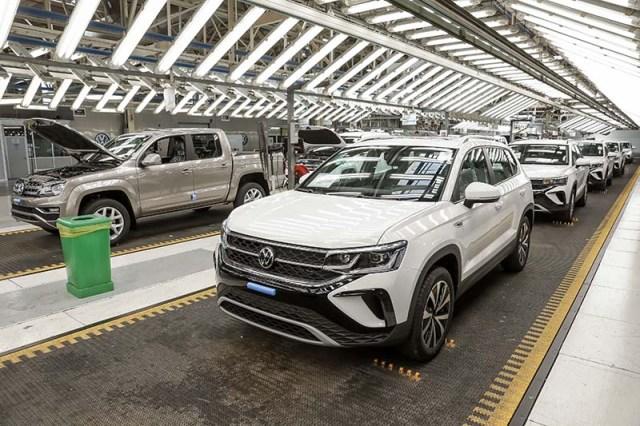 Volkswagen Group Argentina inicia la producción de su primer SUV Taos
