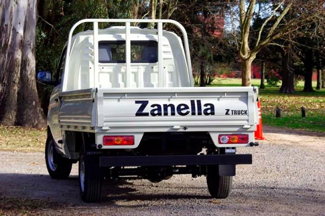 Zanella presentó su nuevo utilitario Z-Truck