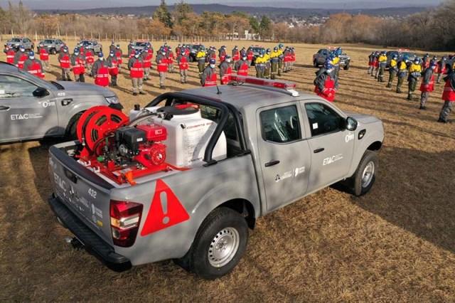 Renault Alaskan elegida por el equipo de catástrofes de Córdoba
