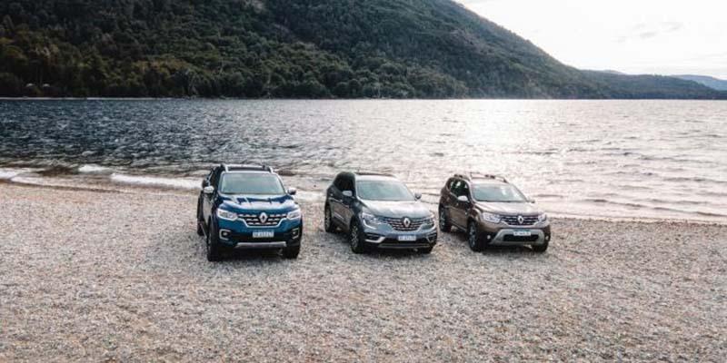 Renault sale de gira por la Patagonia