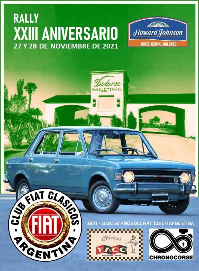 Rally 23 Aniversario del Club Fiat Clásicos de Argentina