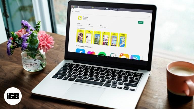 Как скачать и использовать приложение Snapchat на Mac