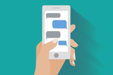 Как переслать текстовое сообщение на Android