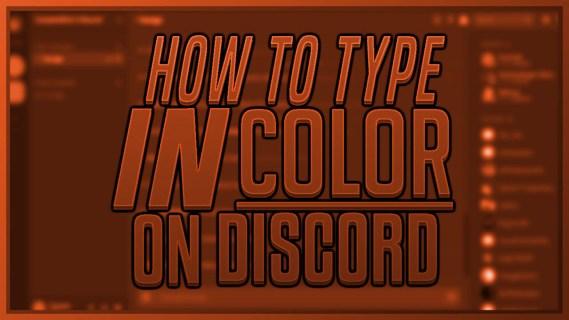 Как изменить цвет текста в Discord