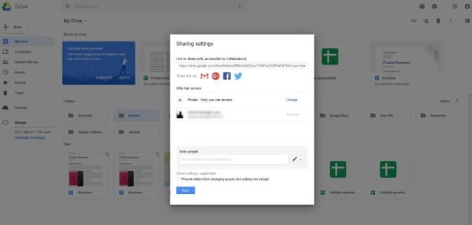 Как скрыть файлы на Google Диске