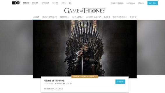 Лучшие места для просмотра игры престолов онлайн