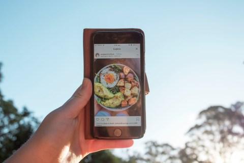 Что делает блок Instagram?