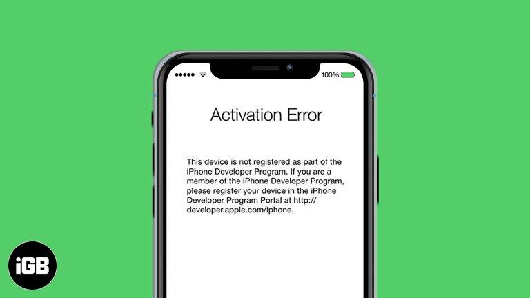 Как исправить ошибку активации iPhone: попробуйте эти 7 решений