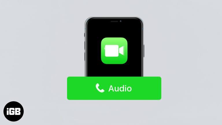 Как совершить аудиовызов FaceTime на iPhone, iPad и Mac