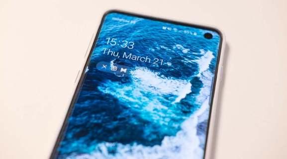 Как узнать время экрана на Samsung Galaxy S10
