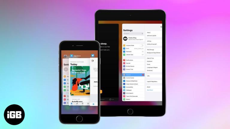 Как переключаться между приложениями на iPhone и iPad