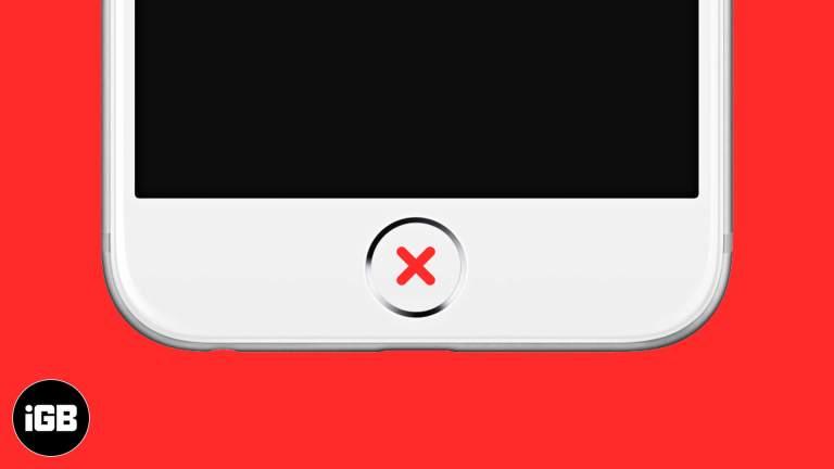 Кнопка «Домой» на iPhone не работает?  7 быстрых возможных решений, которые стоит попробовать