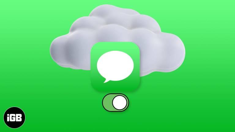 Как включить сообщения в iCloud на iPhone, iPad и Mac