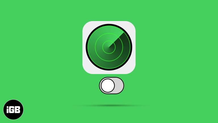 Как выключить Find My на iPhone, iPad и Mac