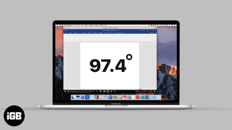 Как ввести символ градуса на Mac: быстрые методы