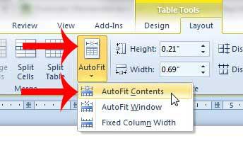 Как разместить таблицу на одной странице в Word 2010
