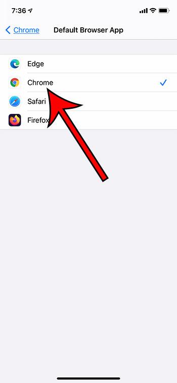 Как сделать Chrome браузером по умолчанию на iPhone 11