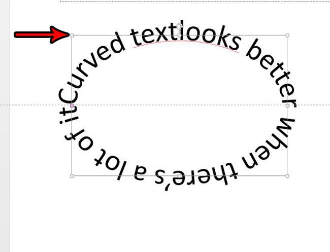 Как сделать изогнутый текст в Powerpoint 2013