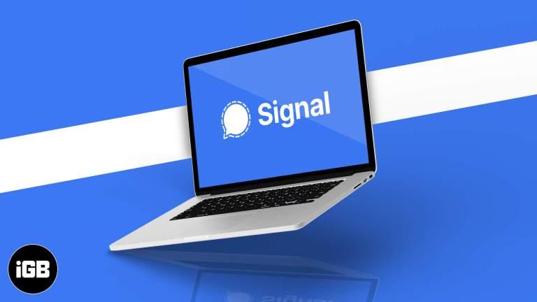 Как использовать Signal на рабочем столе (Mac и Windows)