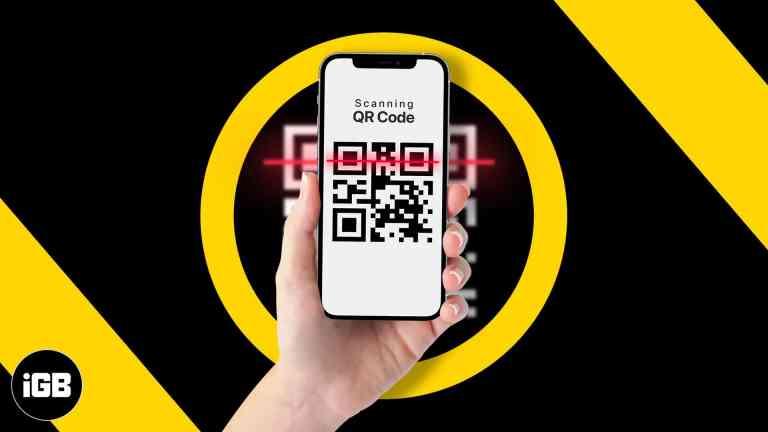 Как сканировать QR-коды на iPhone и iPad (4 способа сканирования)