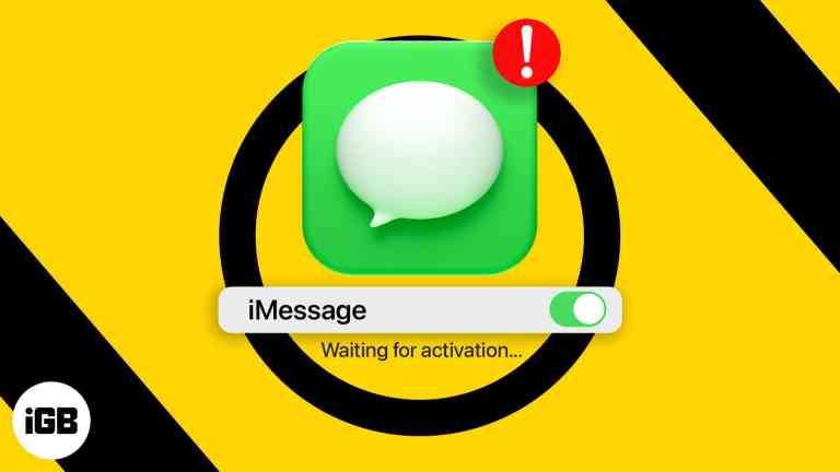 iMessage Ожидание ошибки активации на iPhone?  Вот исправление!