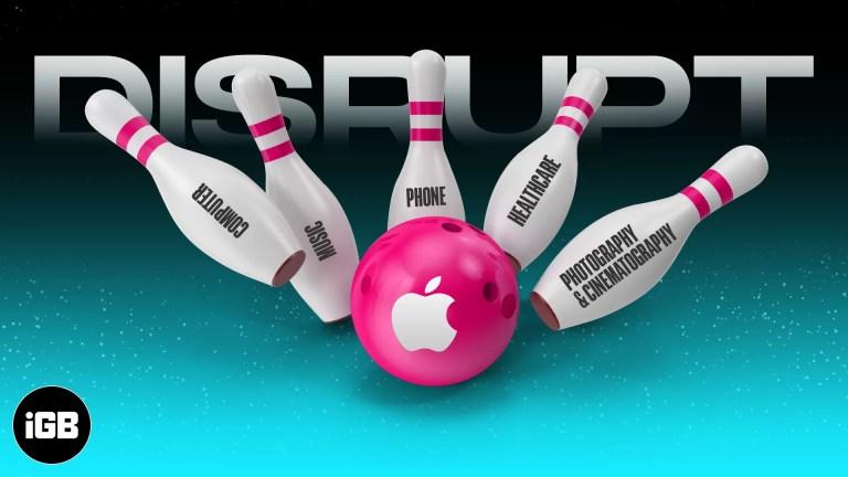 Подрывные инновации Apple: 5 отраслей, которые изменились навсегда