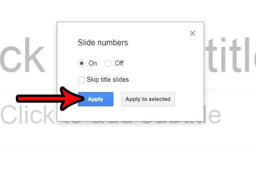 Как вставить номер страницы в Google Slides