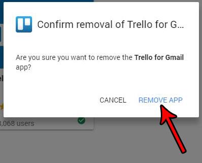 Как удалить надстройки Gmail