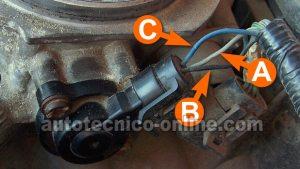 Parte 1 Cómo Probar el Sensor TPS (19962004 GM 43L, 50L, 57L)