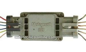 Parte 1 Cómo Probar el Módulo de Encendido y el Sensor del Cigüeñal (23L Ford)