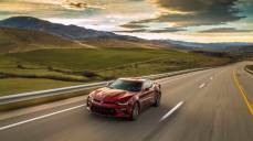 During the Find New Roads Trip, invited guests drove the all-new 2016 Camaro to all 48 States. These images taken outside of Salt Lake City, Utah.