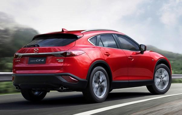 2018 Mazda CX-4 Spec