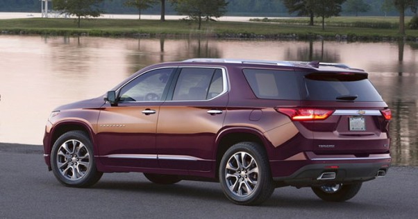 2019 Chevy Traverse changes rear