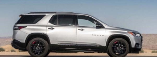 2019 Chevy Traverse exterior design