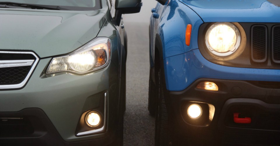 01.23.16 - Jeep Renegade vs Subaru Crosstrek